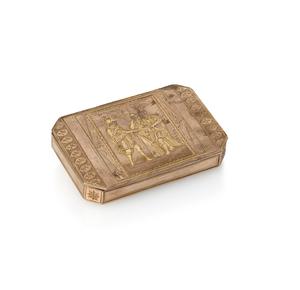 19th Century Gold Snuff Box 48 gm