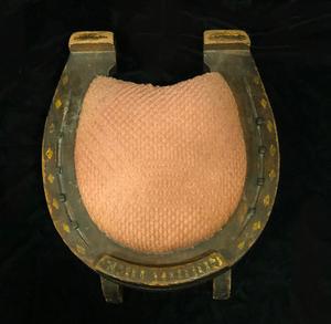 Good Luck Horse Shoe Form Stool