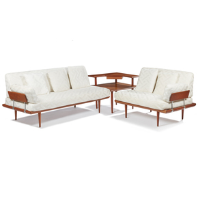 Mid-Century Sectional Set