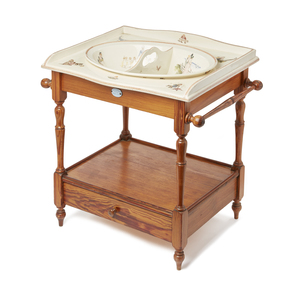 Sarreguemines Baby Washbasin Set