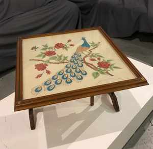 Combination Fireplace Screen/Table