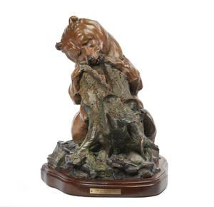 Bronze, Walt Horton (1953-2010),
