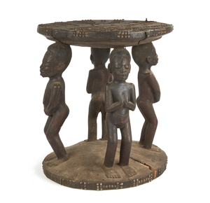 Makonde Wood Stool
