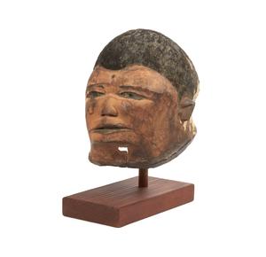 Makonde Wood Lipico Helmet Mask
