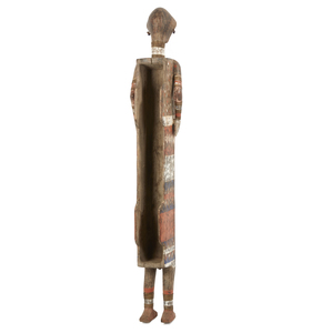 Ngata Anthropomorphic Coffin