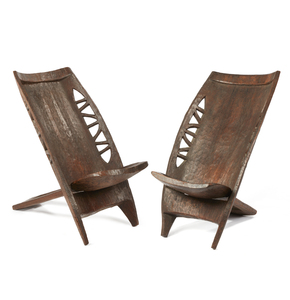 Two Matching Bamanga Chairs