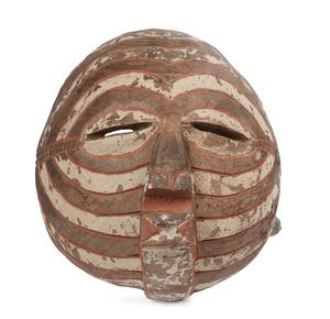 Luba Wood Kifwebe Mask