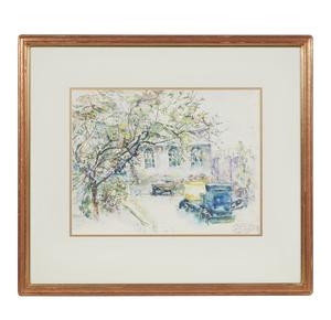 Joseph Raphael (1869-1950), Watercolor,