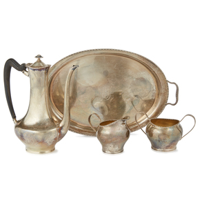 Towle 4 Piece Sterling Tea Service, 29.5 ozt
