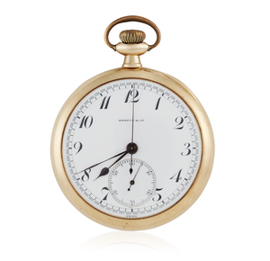 14k Yellow Gold Shreve & Co Pocket Watch