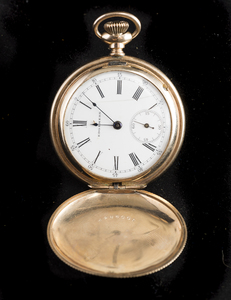 14k Yellow Gold Edgemere Pocket Watch