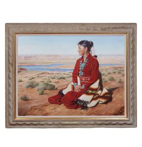 Painting, Claudine Morrow (b. 1931),