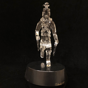 Lewis C. Wilson Glass Figure