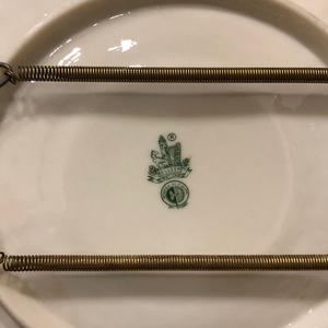 Belleek Plate and Vase
