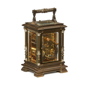 La Vallee / Matthew Norman Repeater Carriage Clock