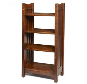 L. and J.G. Stickley Magazine Stand, #46