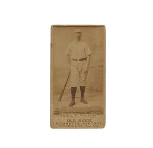 1887 N172 Old Judge Buck Ewing (PSA, VG, 3)