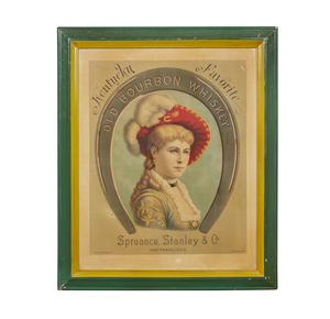 Spruance, Stanley & Co. Old Bourbon Whiskey Advertisement, Edward Bosqui