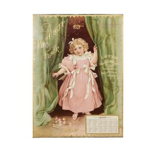 Port Costa Flour 1899 Advertising Calendar