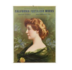 California Fertilizer Works Advertising Calendar