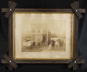 Framed Victorian Architectural Photograph