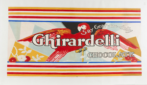 Ghirardelli Chocolate Advertising Poster