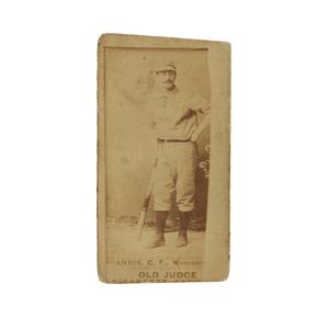 1887 N172 Old Judge Bill Annis (PSA, MISCUT)