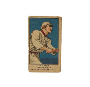 1919-1921 W514 Ty Cobb (PSA, #43, Min Grade)