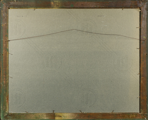 Jumbo Spool Cotton Trade Cards Framed