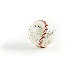 Signed Spalding Baseball