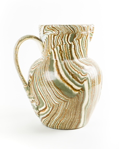Agateware Pitcher