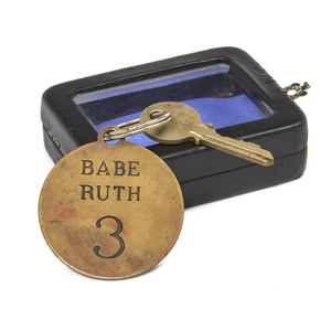 Babe Ruth Key Chain