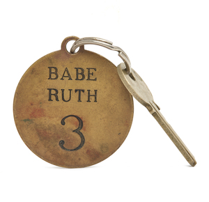 Babe Ruth Key Chain