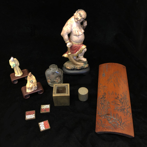Seven Assorted Asian Decorative Art Pieces