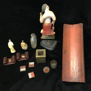 Seven Assorted Asian Decorative Art Pieces
