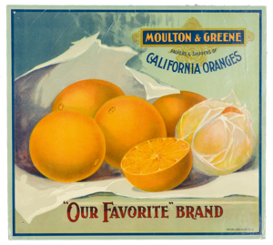 Fruit Label -