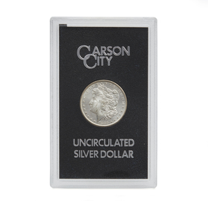1883 Boxed CC Morgan Silver Dollar