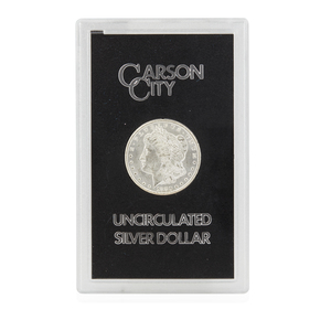 1880 Boxed CC Morgan Silver Dollar