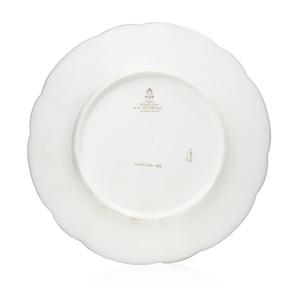 Benjamin Harrison Presidential China Breakfast Plate