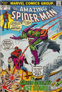 Marvel's Amazing Spider-Man #122 (the death of Green Goblin)