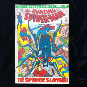 Marvel's Amazing Spider-Man #105, Silver Age comic