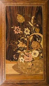 Italian Marquetry Panel