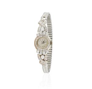 Lady's Hamilton Diamond 14k Watch