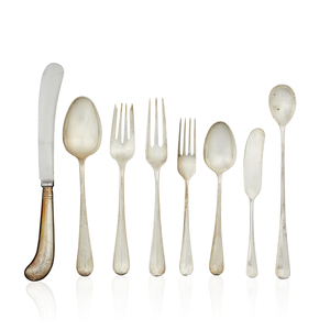32 Piece Sterling Silver Flatware, 38.19 ozt