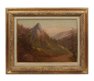 Thomas Hill (1829-1908) Painting,