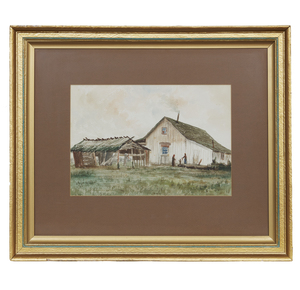 James Stuart (1852-1941) Watercolor,