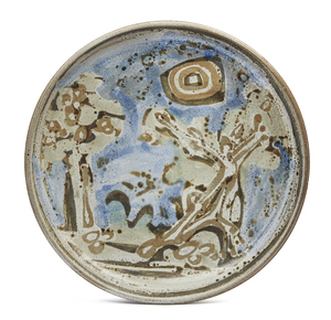 Ruth Rippon (b. 1927) Ceramic Charger