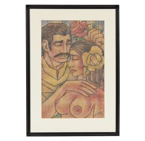 Carlos Licon (1929-1982), Mixed Media