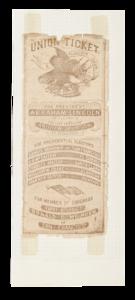 Union Ticket, Lincoln and Johnson California Campaign