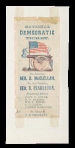 Union Ticket, McClellan and Pendleton California Campaign